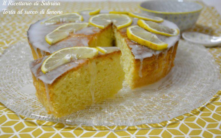 Torta al succo di limone