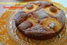 Torta integrale con ananas fresco