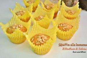 Muffin alle banane