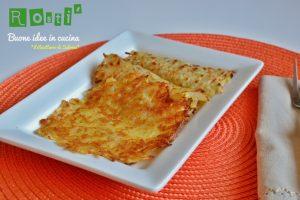 Come preparare i Rosti' di patate?  Ricetta base facilissima