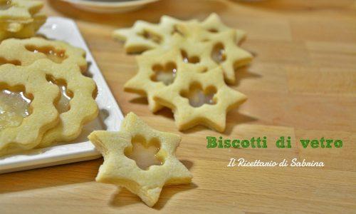 Biscotti di vetro senza lattosio