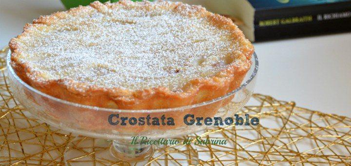 La ricetta della Crostata Grenoble senza lattosio e derivati del latte