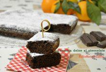 Focaccia dolce al cioccolato