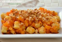 Gnocchi in salsa di zucca e noci