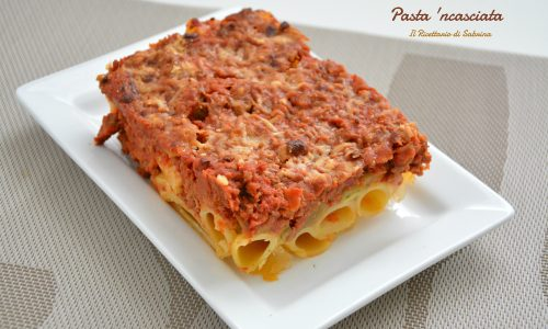Pasta 'ncasciata la pasta preferita da Montalbano