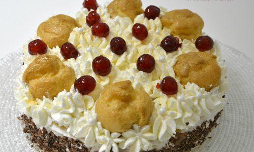 Torta Saint Honoré all'italiana