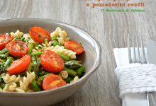 Fusilli agli asparagi e pomodorini confit