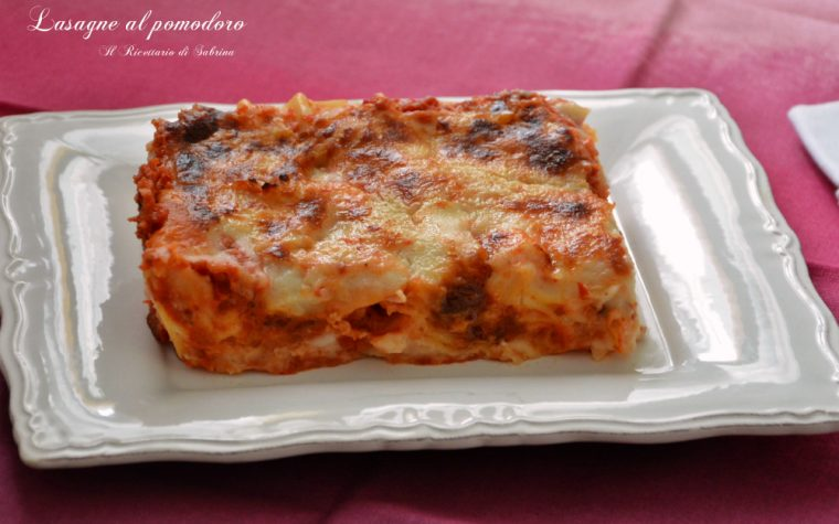 Lasagne al pomodoro