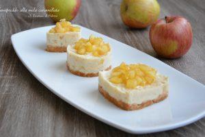 Semifreddo alla mela caramellata  ( senza derivati del latte )