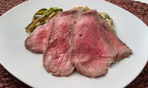 Come preparare un buon arrosto di carne (ricetta passo passo )