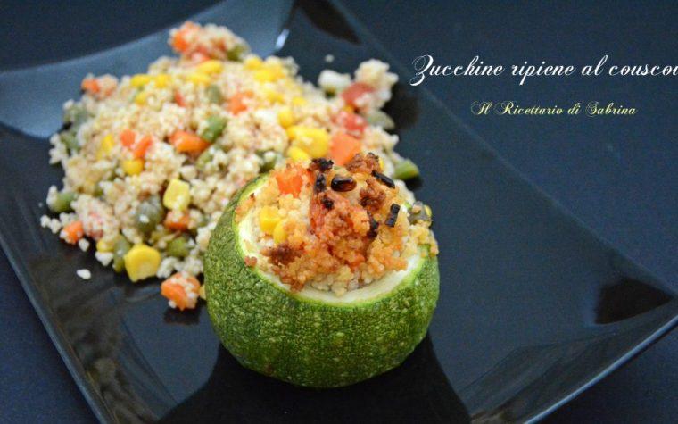 Zucchine ripiene al couscous