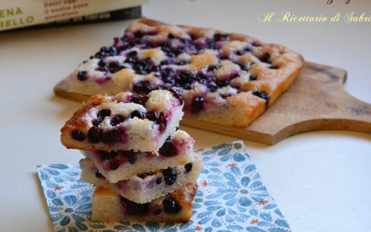 Schiacciata con l'uva senza glutine