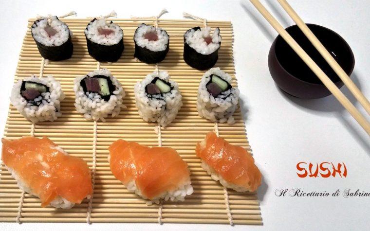 Sushi-Come preparare un buon sushi in casa