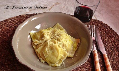 Tortelli di patate al profumo di limone