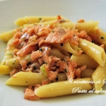 Pasta al salmone, ricetta senza panna – Pasta with salmon-