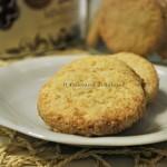 Biscotti al cocco vegan senza glutine e senza lattosio
