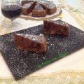 torta morbida al vino rosso e pere