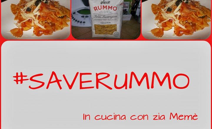 Pasta con pancetta e vodka  #SaveRummo