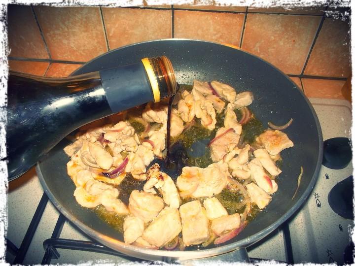 bocconcini di carne all'aceto balsamico e rucola 3