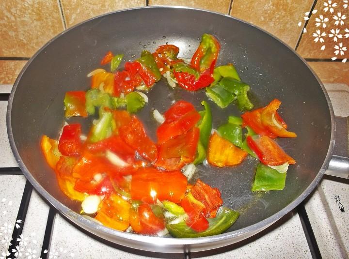 2 Filetto di merluzzo con peperoni-InCucinaConZiaMemè