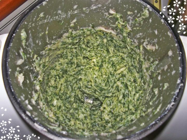 4 spinacine in cucina con zia memè
