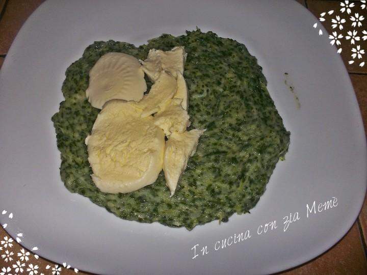 6 spinacine in cucina con zia memè
