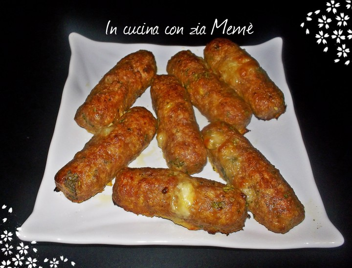 8 Bastoncini di carne al formaggio _InCucinaConZiaMemè-