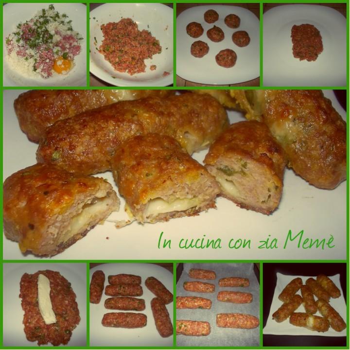 Bastoncini di carne al formaggio _InCucinaConZiaMemè-