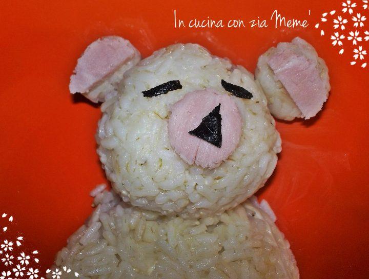 11 Riso orsetto -In cucina con zia Memè