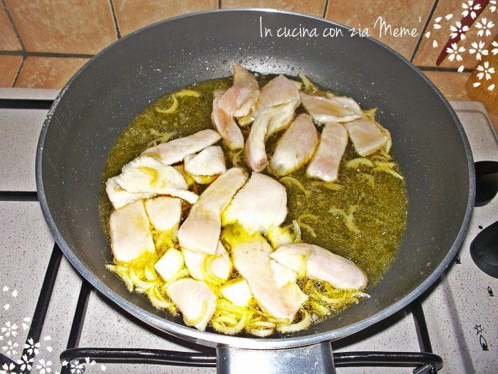 Pollo allo zafferano e curcuma -In cucina con zia Memè-