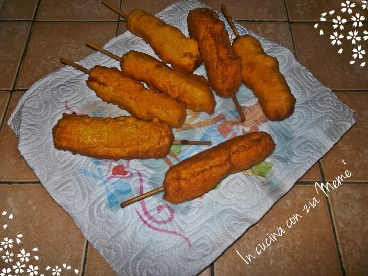 8 Corn dogs InCucinaConZiaMemè