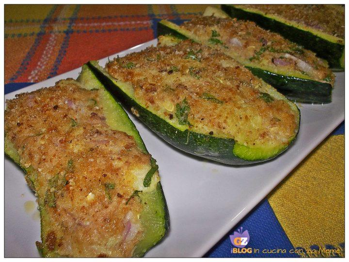 1.Zucchine Ripiene gratinate In cucina con zia Memè