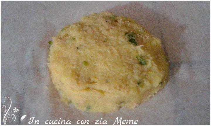 Medaglioni di patate e tonno in cucina con zia Mame