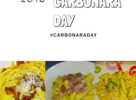 Carbonara day – classica, sbagliata e vegetariana