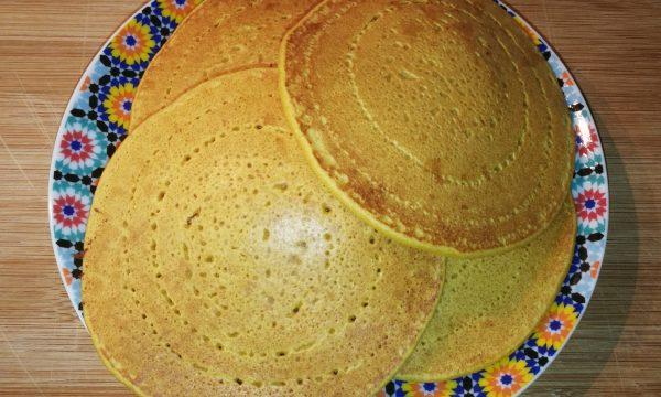 Pancakes di farina di ceci – colazione salata