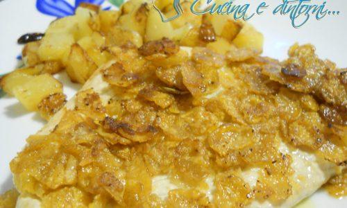 Petto di pollo panato con cornflakes