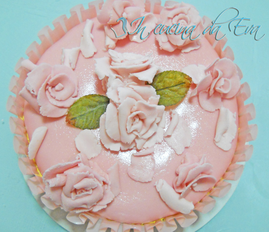 Mousse di yogurt ricoperta con fondente Marshmallows
