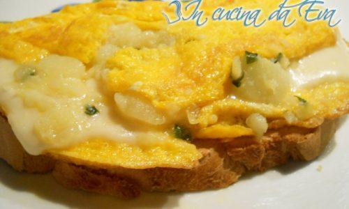 Omelette campagnola vegetariana