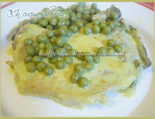 Maiale al curry e formaggio fuso