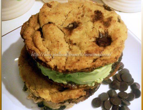 Cookies americani e gelato