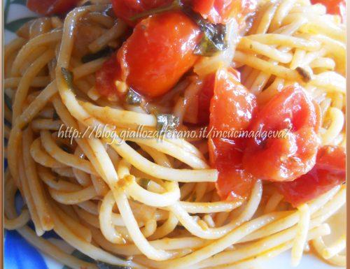 Spaghettoni alla marinara