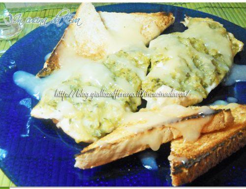 Pollo zucchine alla glassa di limoncello