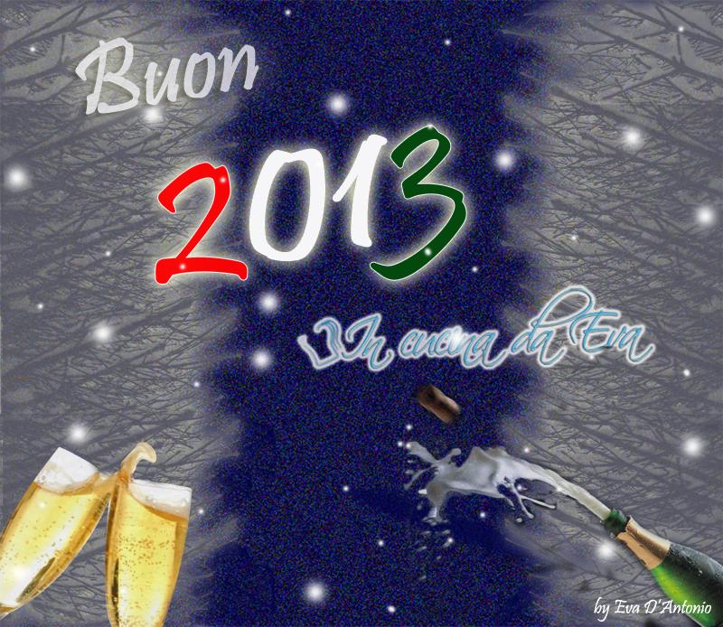 Buon 2013 a tutti