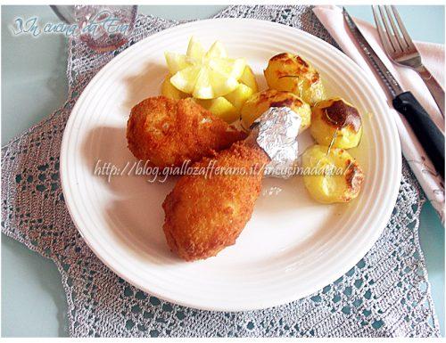 Cosce di pollo fritto
