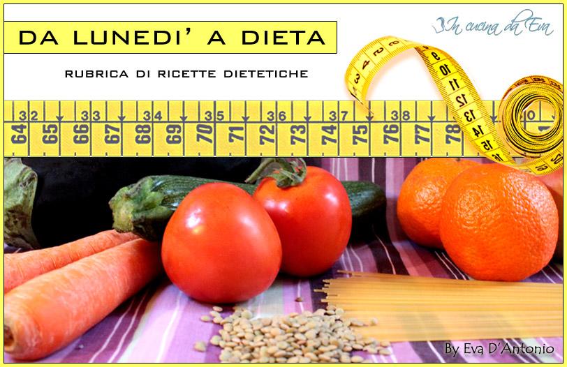 Logo rubrica da Lunedì a dieta