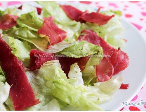 Bresaola ed insalata