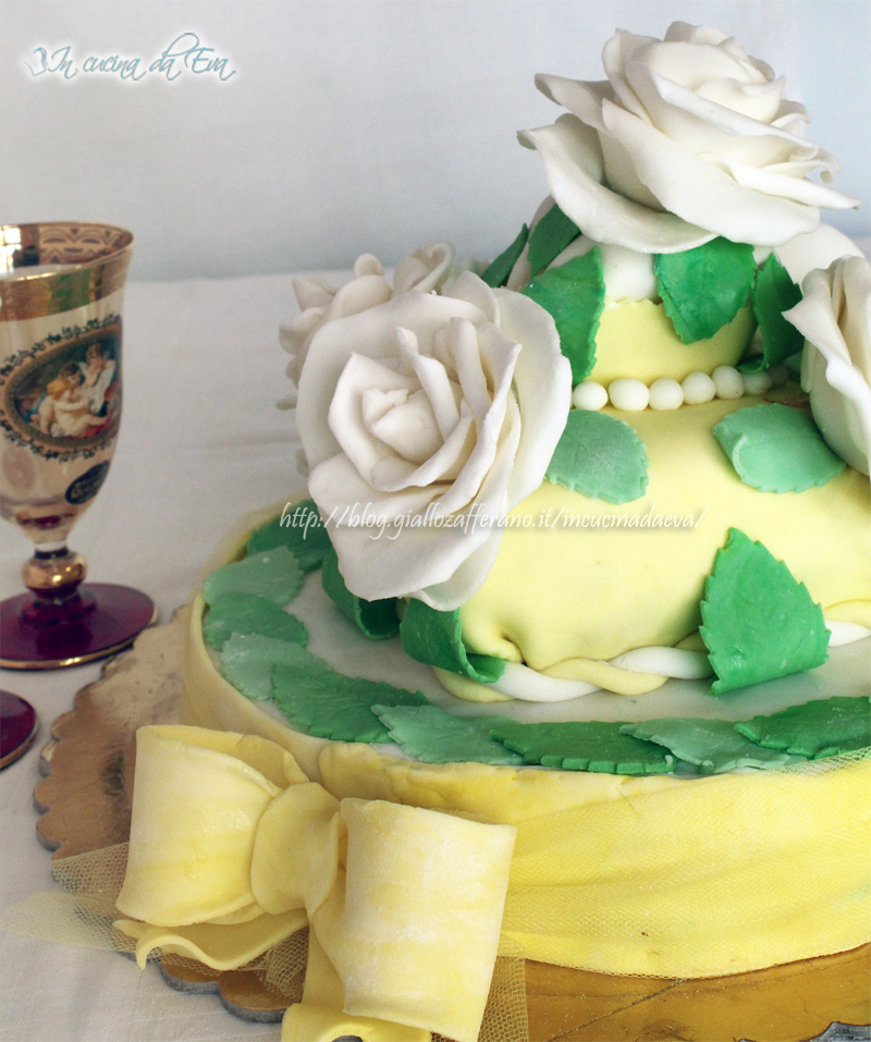 Torta Per Anniversario Di Matrimonio Giallo Zafferano.Torta Romantica Di Anniversario Ricetta Passo Per Passo