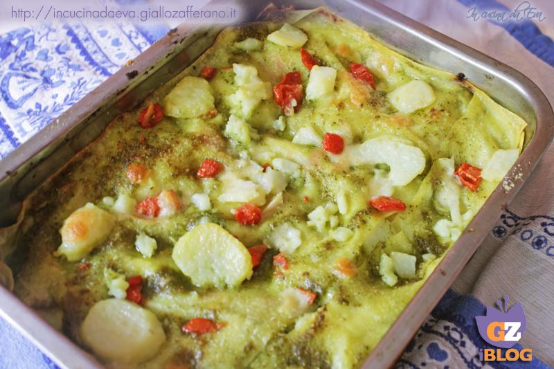 lasagne patate pesto e pomodorini2