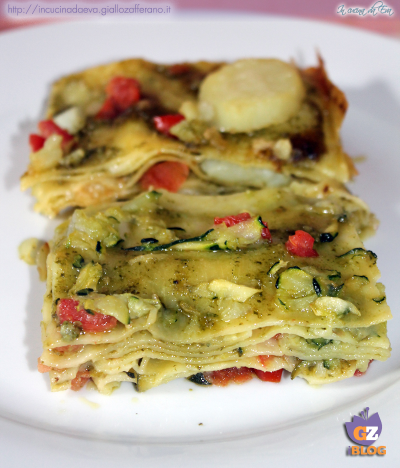 lasagne zucchine pesto e pomodorini3