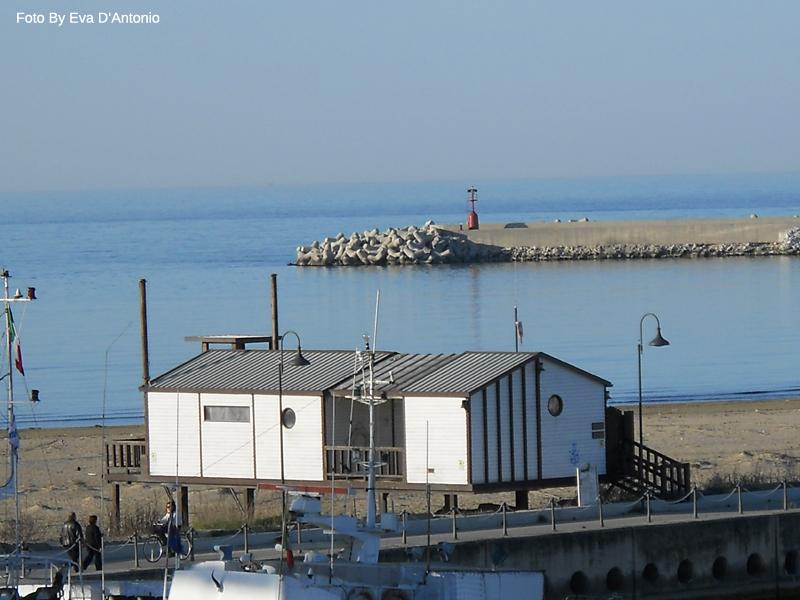 vista ponte del mare pescara